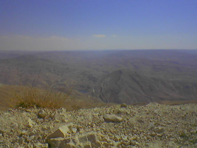 Výhľad z Jordánskeho masívu.