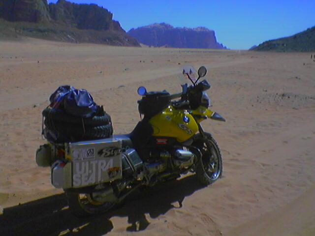 Červená púšť Wadi Rum.