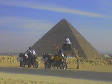 Pyramídy v Gize.