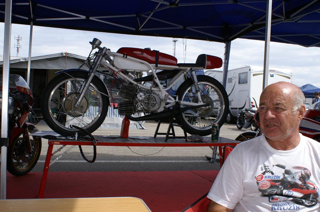 Jawa 125 V2 - úplna rarita - Antonín Kružík majiteľ