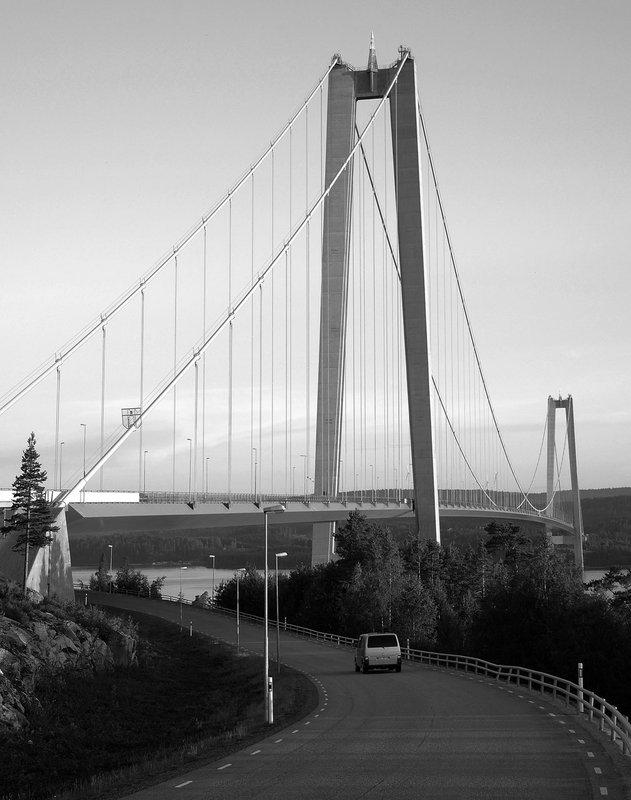Krížom Európou 2014 - Most Höga Kusten, Švédsko