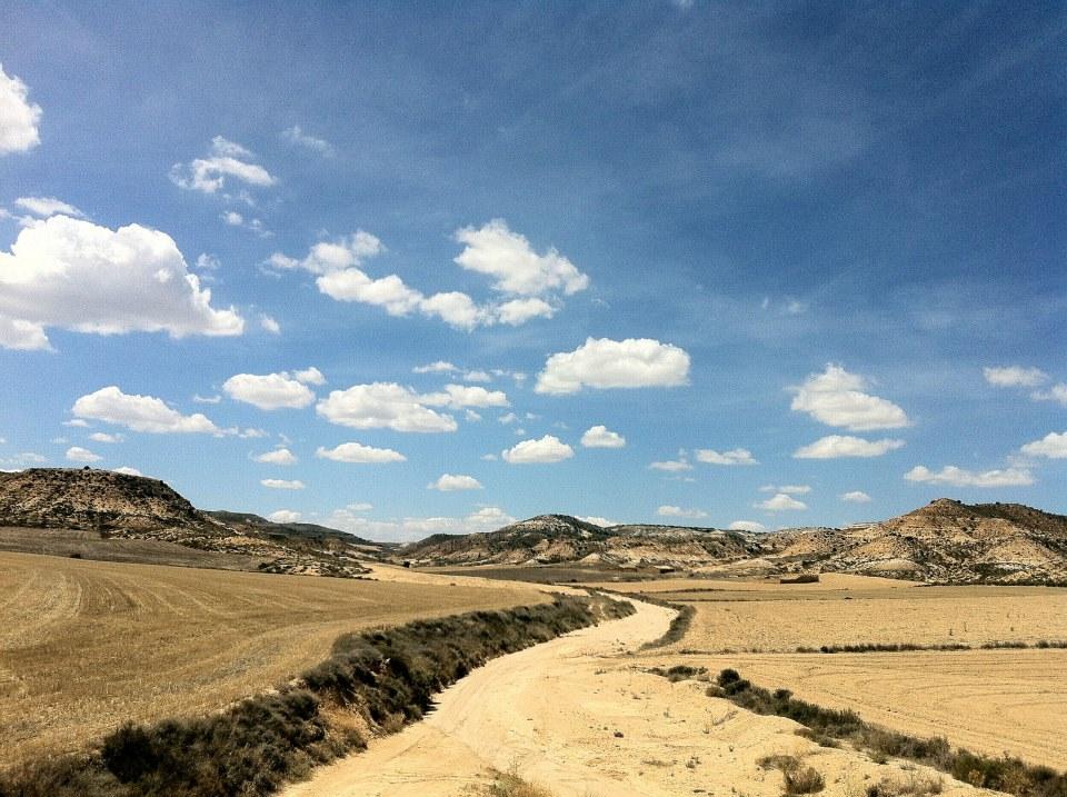 Medzi Madridom a Zaragozou, Španielsko