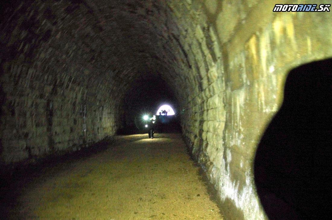 Slavošovský tunel - 13. Motoride Stretko - Motoride Tour 2014 - Teplý vrch