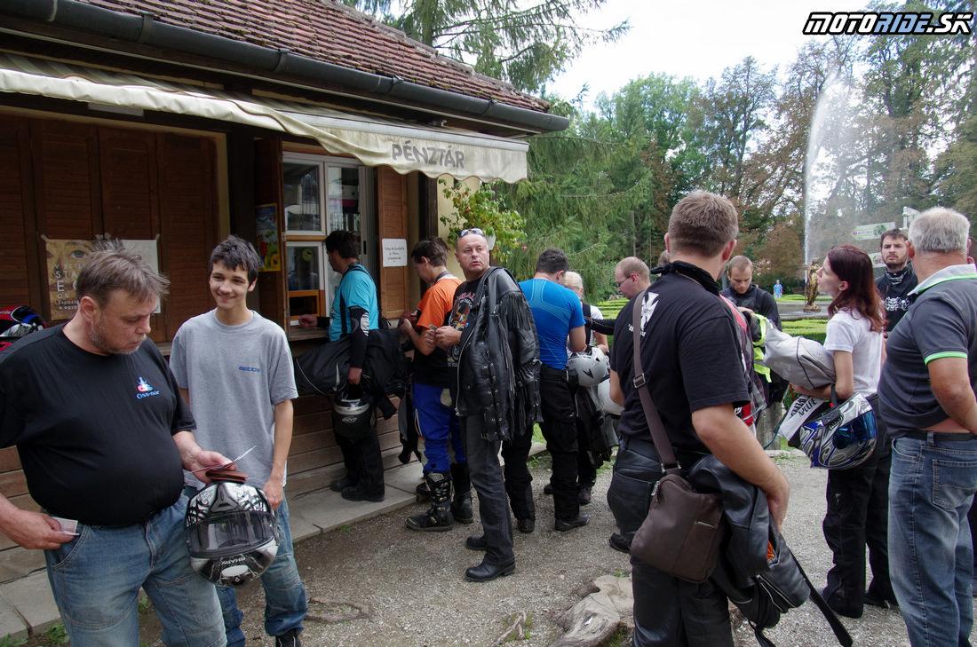 Kaštieľ Betliar - 13. Motoride Stretko - Motoride Tour 2014 - Teplý vrch