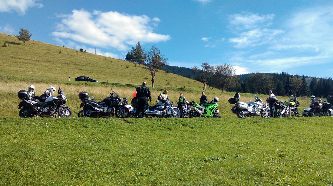 13. Motoride Stretko - Prameň Hrona - Motoride Tour 2014 - Teplý vrch