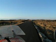Cesta na Golandske vysiny, sopecne kamene, urodna poda