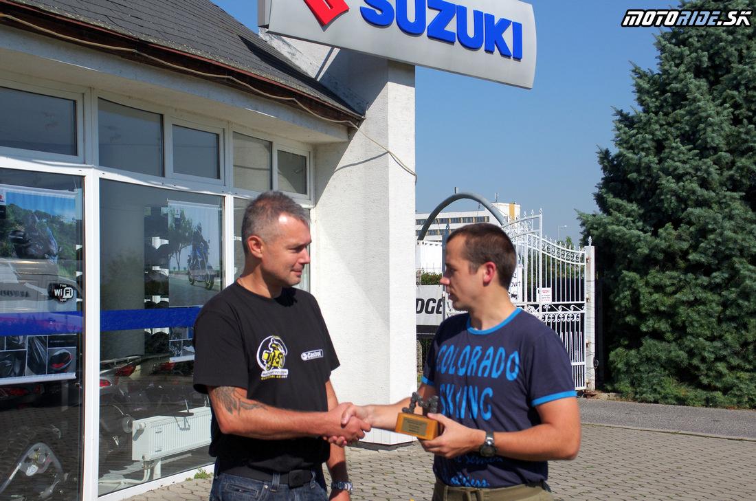 Odovzdanie trofeje Motoshop roka 2013 - Styx