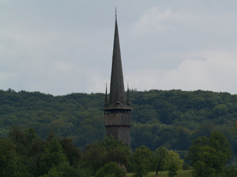 Drevený kostolík Surdesti, Rumunsko - Bod záujmu
