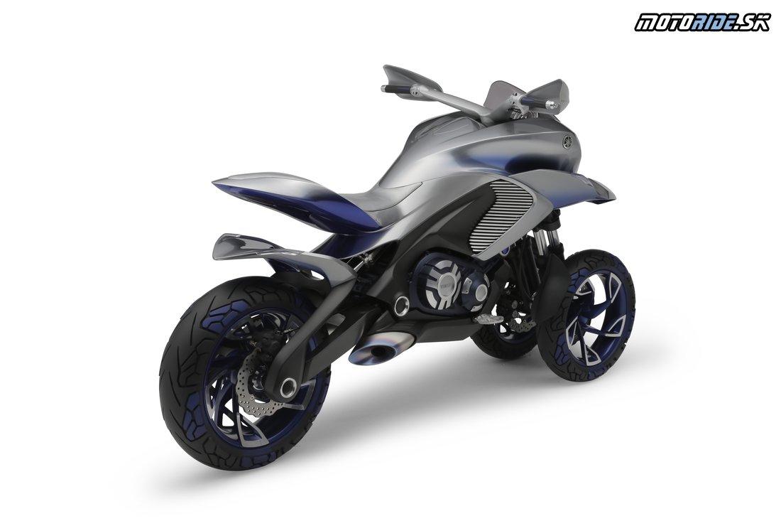 Koncept Yamaha 01GEN 2015 - trojkolesový crossover