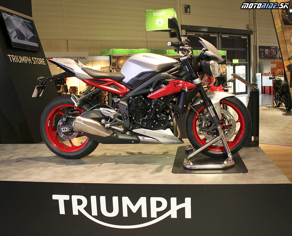 Intermot 2014 - Triumph Stree Triple RX  2015