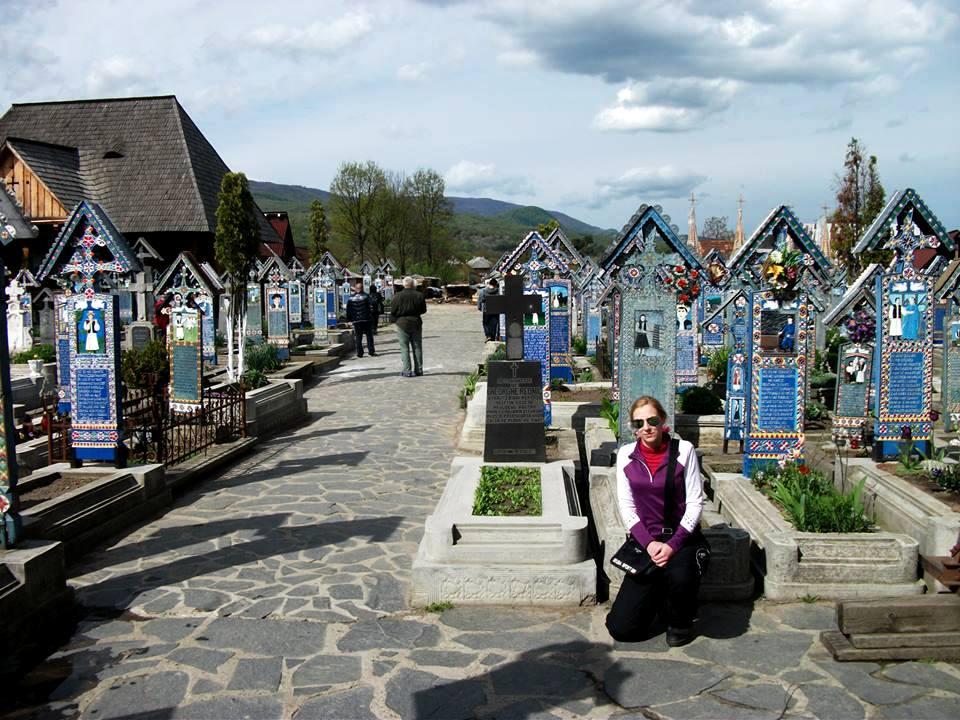 Veselý cintorín, Sapanta