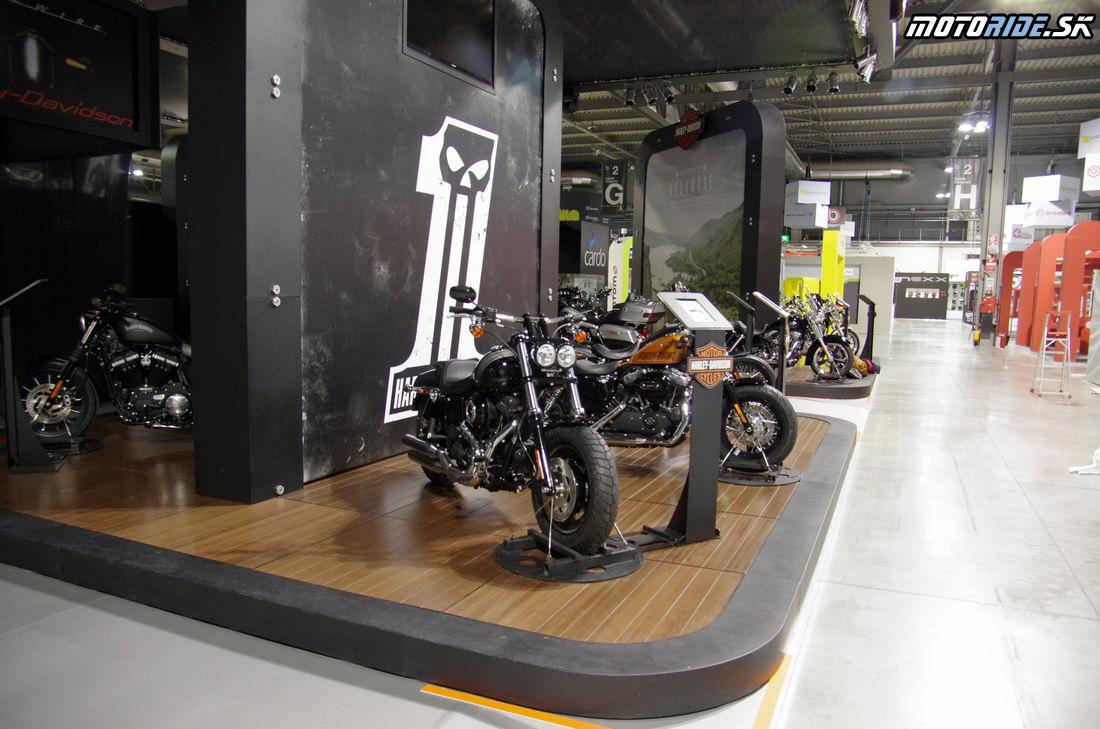 Harley-Davidson - Výstava EICMA Miláno 4.11.2014
