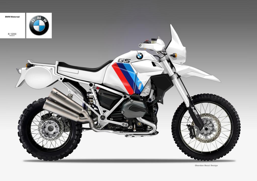 BMW R 1200 Hubert - štúdia