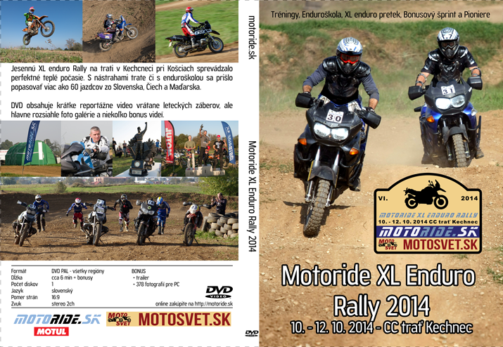 DVD Motoride XL Enduro Rally 2014
