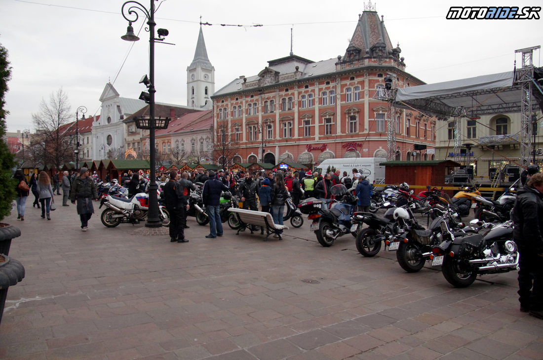 Mikulášska jazda Košice 2014
