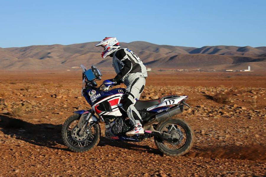 David Fretigne - Africa Eco Race 2015 - Yamaha Supertenere 1200