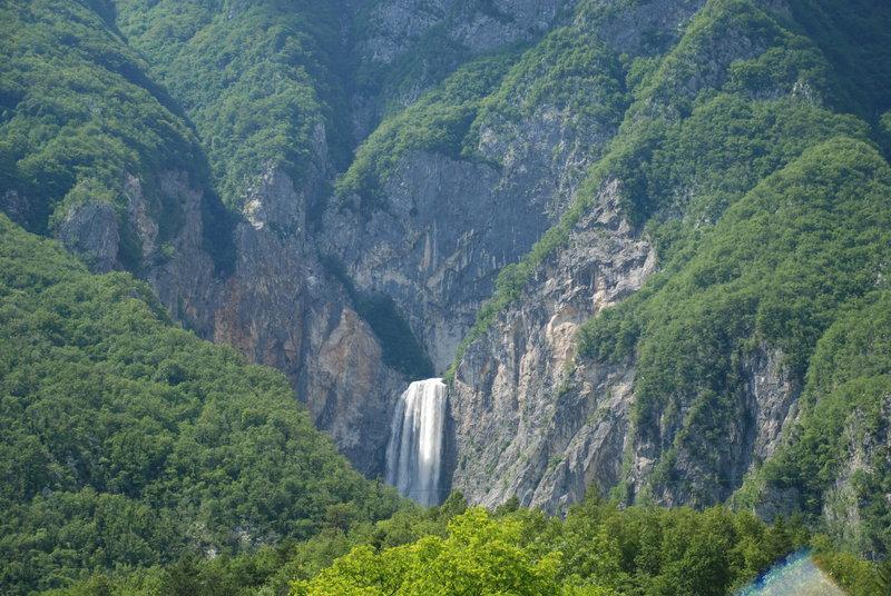 Vodopád Boka, Slovinsko - Bod záujmu