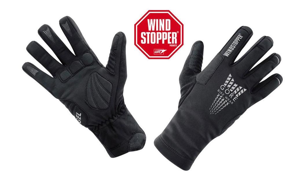 Zimné rukavice - Windstopper (cyklo)