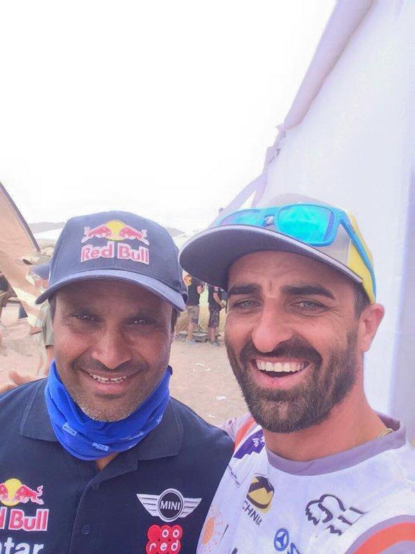 Dakar 2015 – 9. etapa - Ivan Jakeš a Nasser Al Attiyah