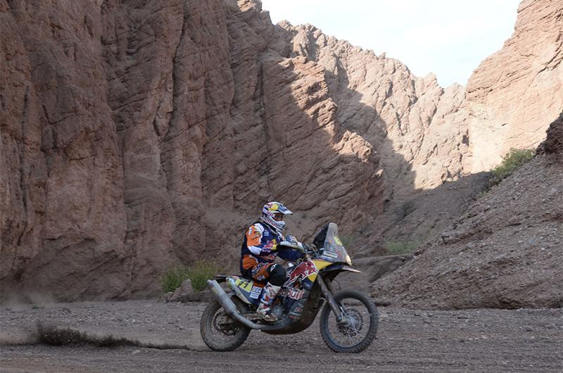 Dakar 2015 - 11. etapa - RUBEN FARIA (PRT) - KTM