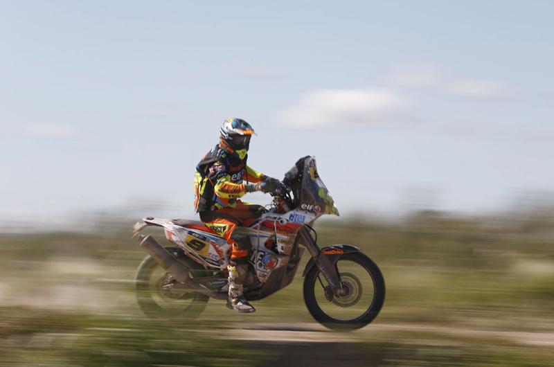 Dakar 2015 – 12. etapa -      DAVID CASTEU (FRA) - KTM