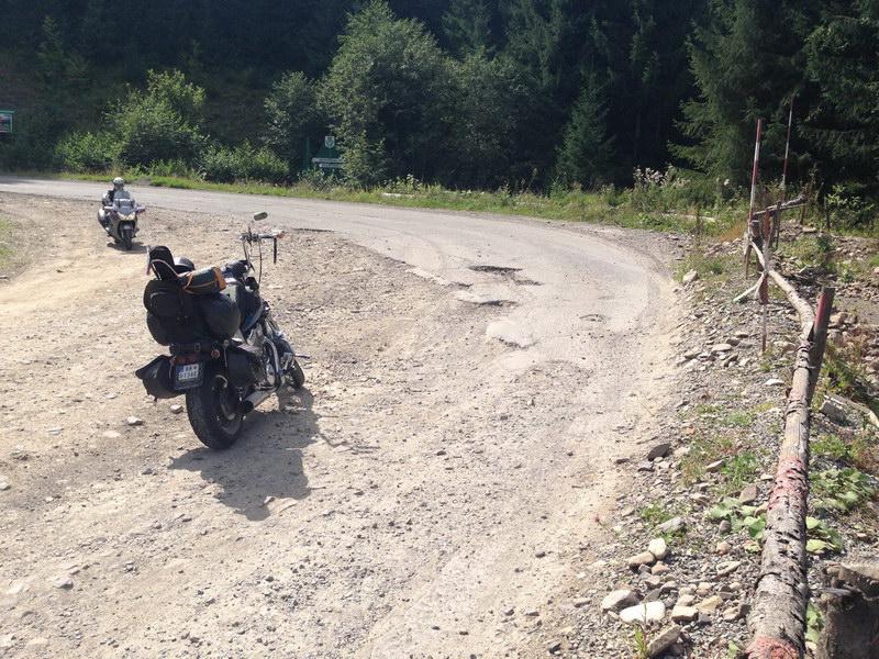 Ukrajinské cesty-necesty v Karpatoch