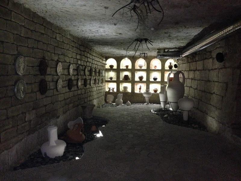 Cricova v Moldavsku, vinárske katakomby