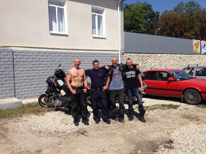 Slovenský pohraničník Marián v Moldavsku