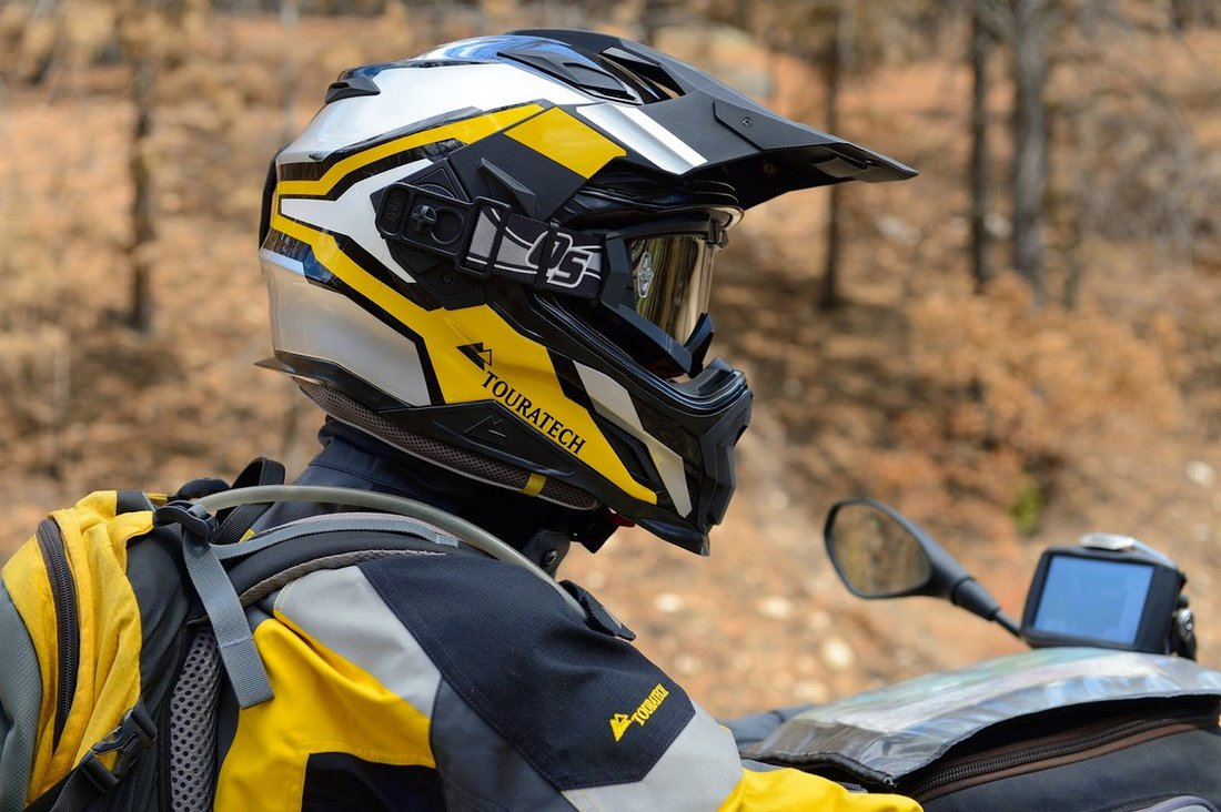 Touratech Aventuro Carbon - Adventure prilba