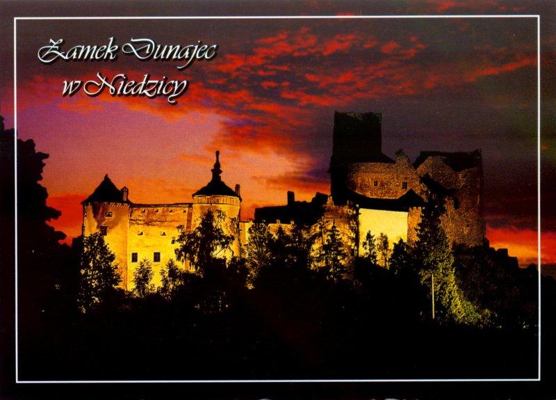 Pohľadnica - Zamek Dunajec, Niedzica