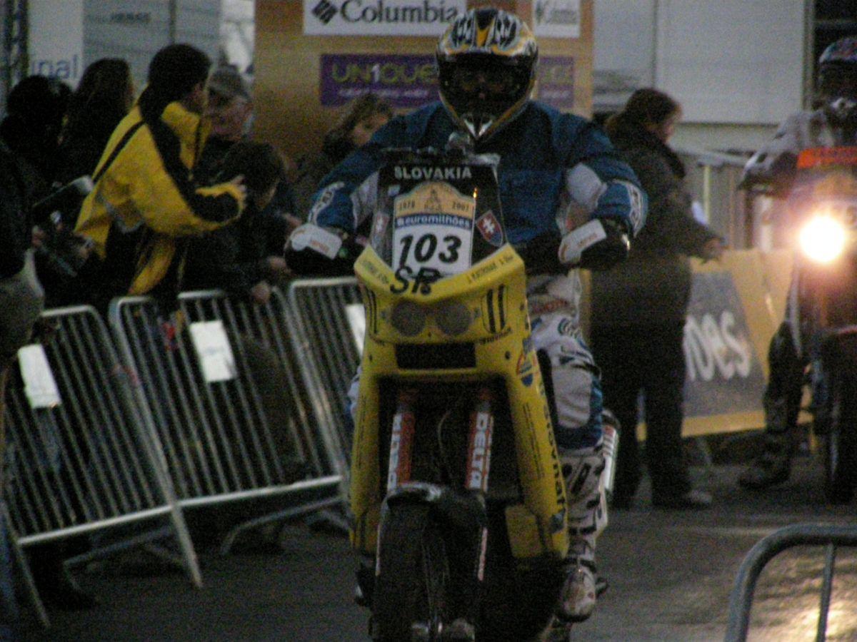 Jaro Katriňák na štarte druhej etapy