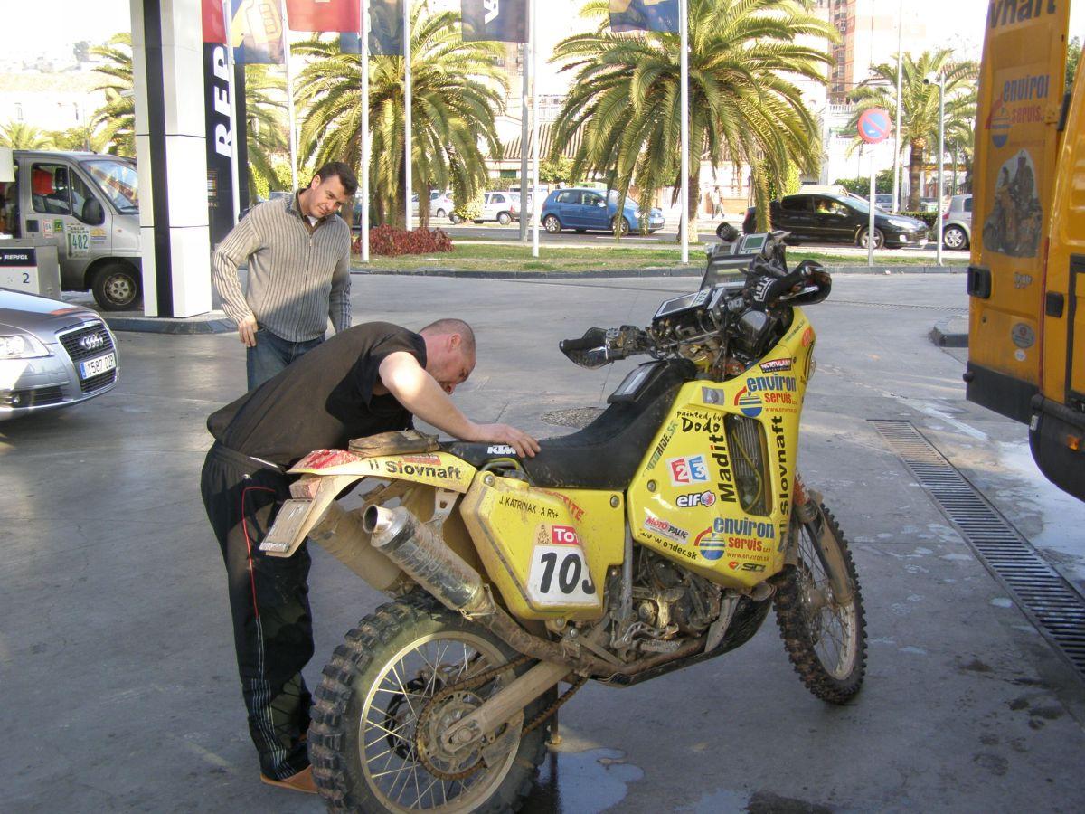 Jarova motorka po druhej etape