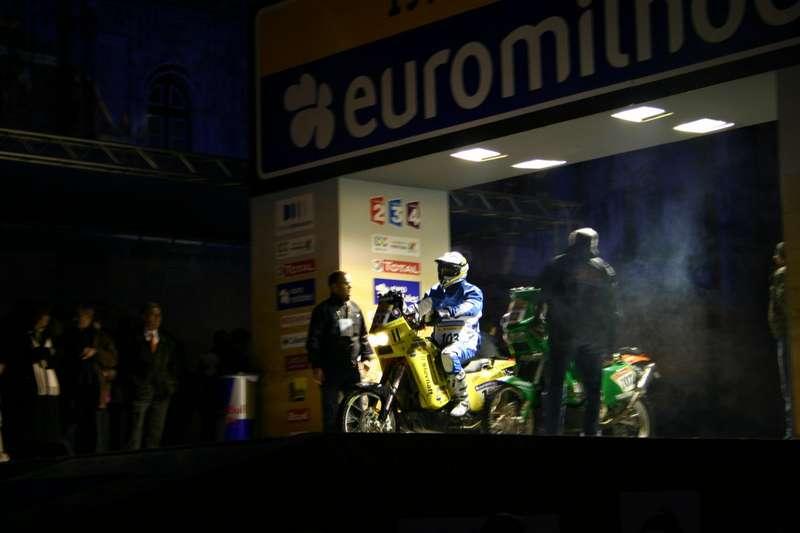Jaro Katriňák na štarte prvej etapy