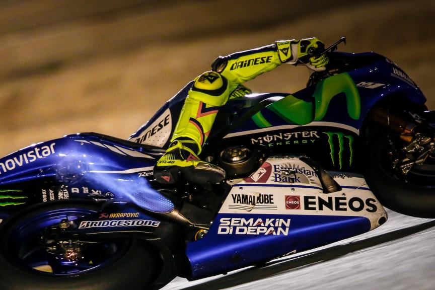 Valentino Rossi - MotoGP 2015 - VC Kataru - kvalifikácia