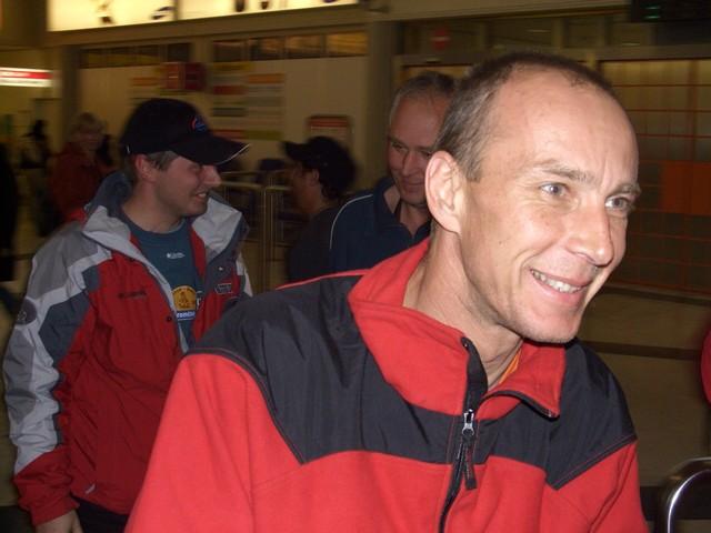 Katroš tesne po príchode - Jaroslav Katriňák - Dakar 2007