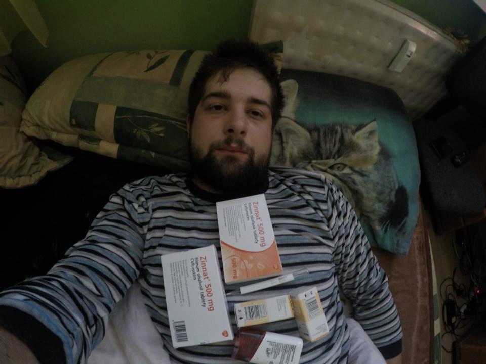 28.3.2015 - Za 3 dni letíme a mňa po očkovani prepadli hneď dva vírusy naraz...a ešte k tomu som včerajšiu nočnú návštevu na ugrente nenatočil