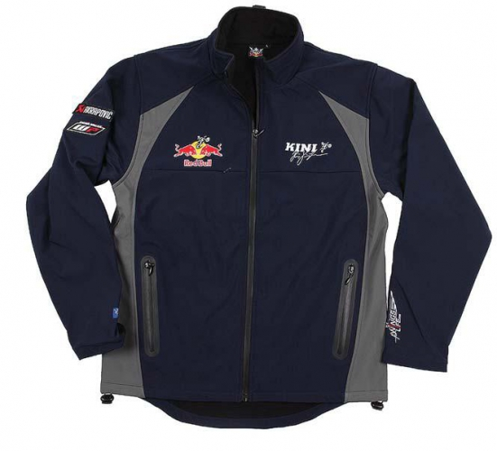 Kini Redbull kini rb team softshell navy grey