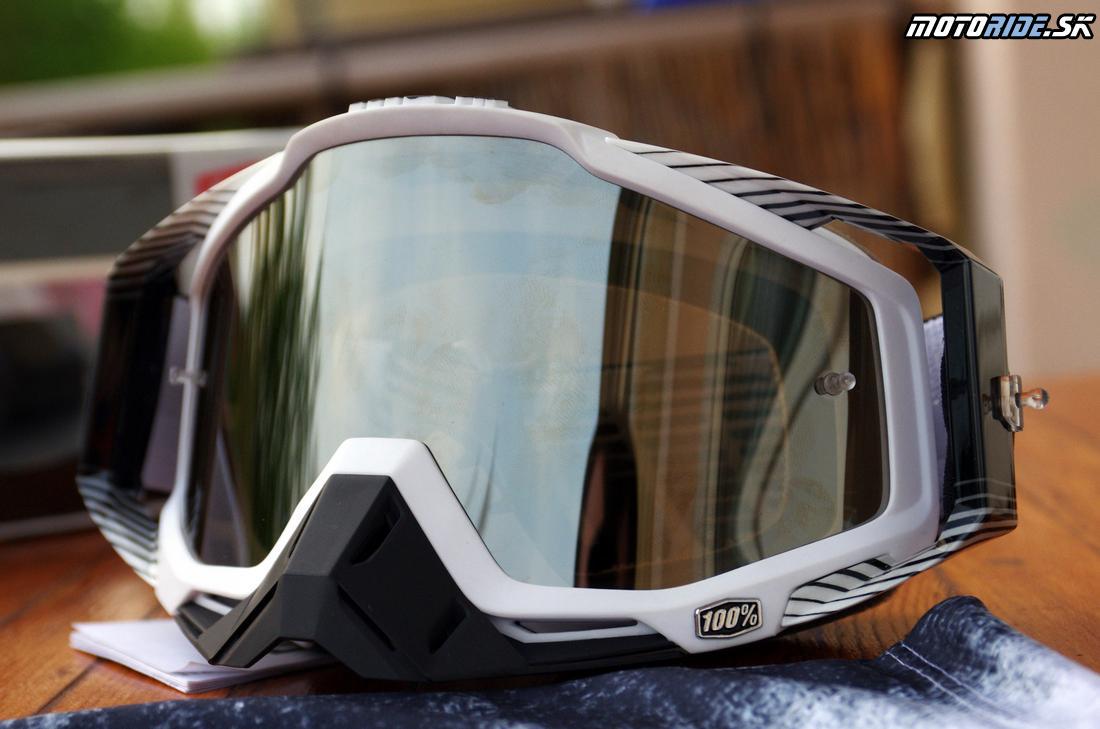 MX okuliare 100% Racecraft - Vysunuté vzpery popruhov