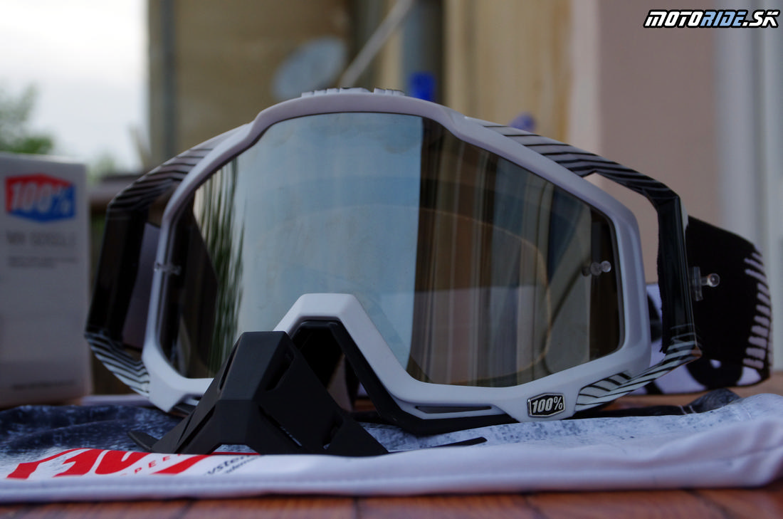 MX okuliare 100% Racecraft - Odoberateľný chránič nosa