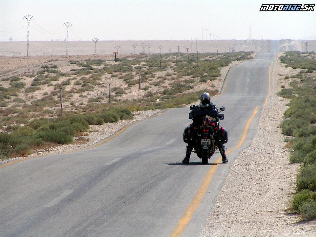 Cesta do Palmyry 2006 - Palmýra - Tadmor, Sýria