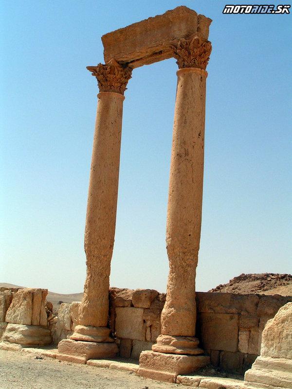 Palmýra - Tadmor, Sýria