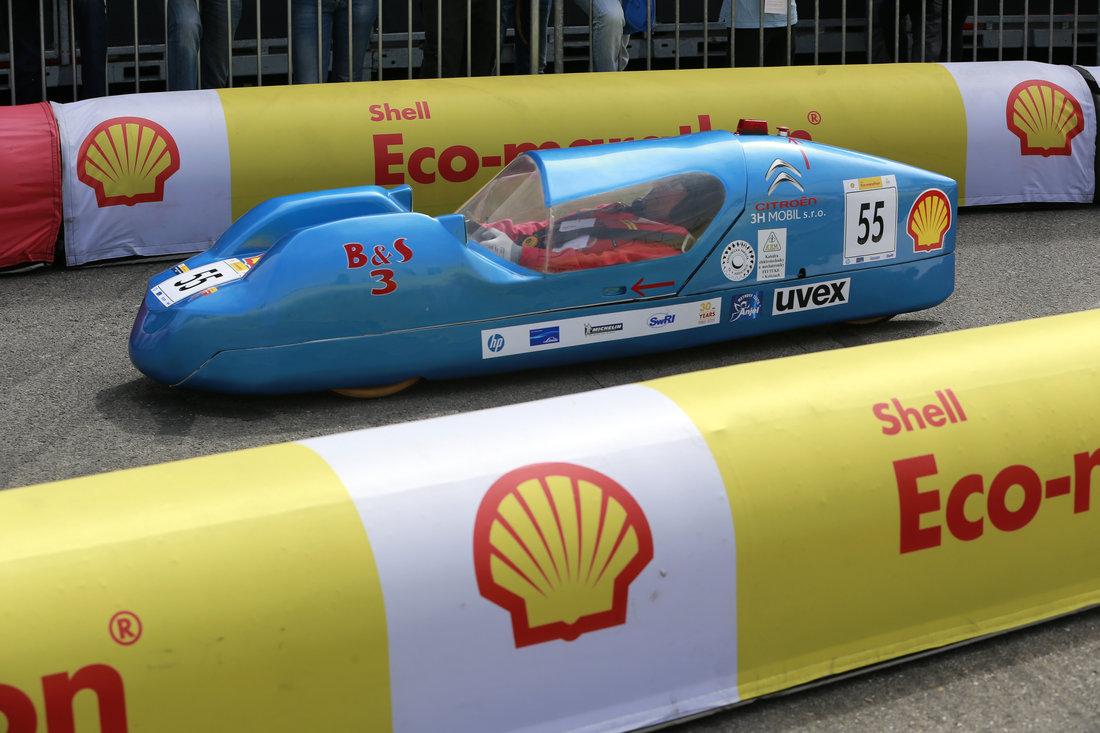 Shell Eco-marathon Europe 2015 - Vozidlo B&S Technickej univerzity v Košiciach