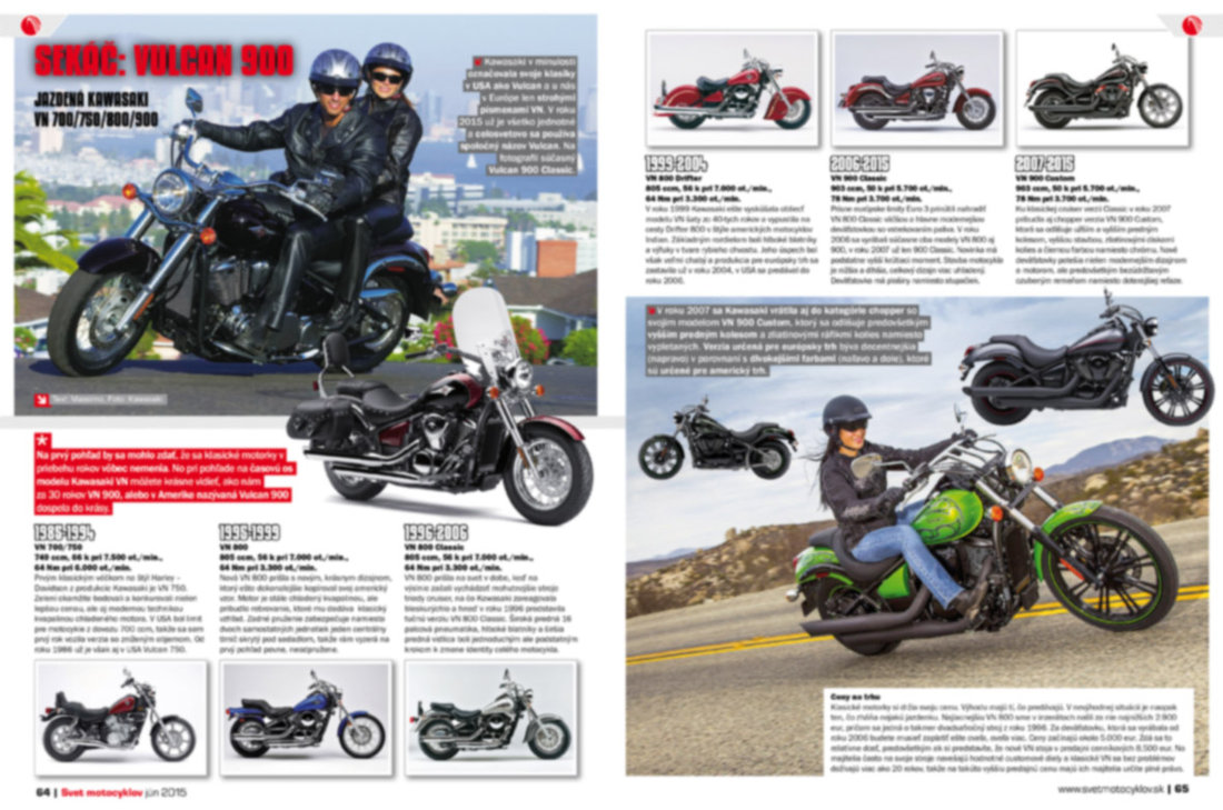 Svet motocyklov číslo 6/2015