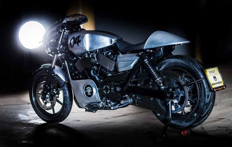 Battle of the Kings, prestavba H-D Street 750 finalisti - Praha