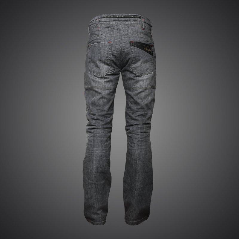 Cool Grey Jeans kevlarové moto rifle 4SR