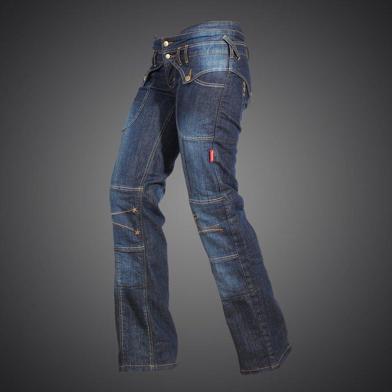 Jeans Lady Star kevlarové moto rifle 4SR