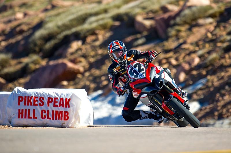 Micky Diamond - voľný tréning 2014 - Pikes Peak, USA - Bod záujmu