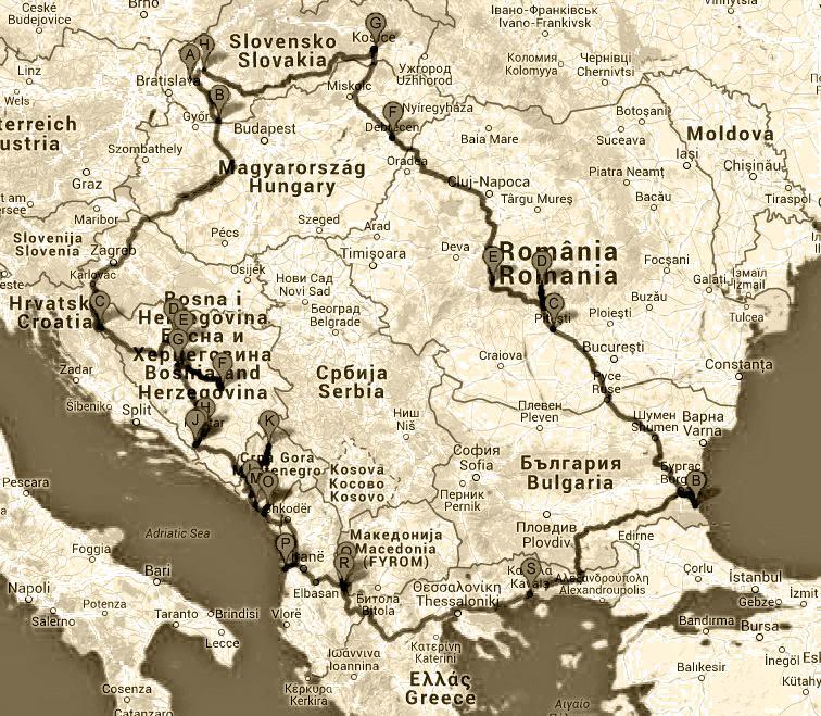 Balkánsky okruh 2015