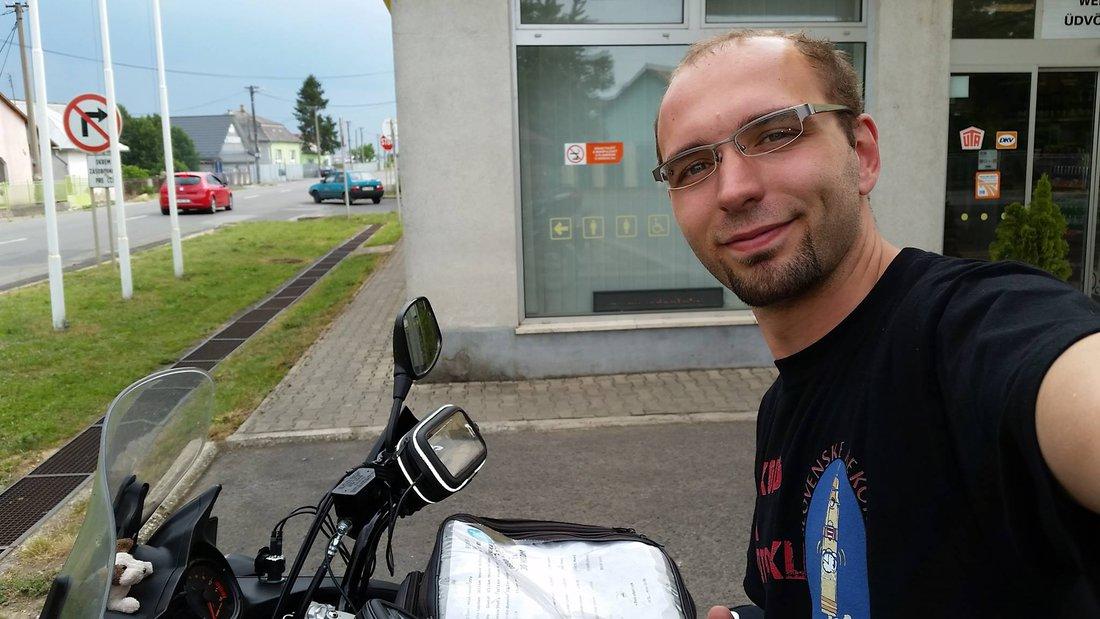 Rekord - Okolo Slovenska na motocykli 2015 - Cesta