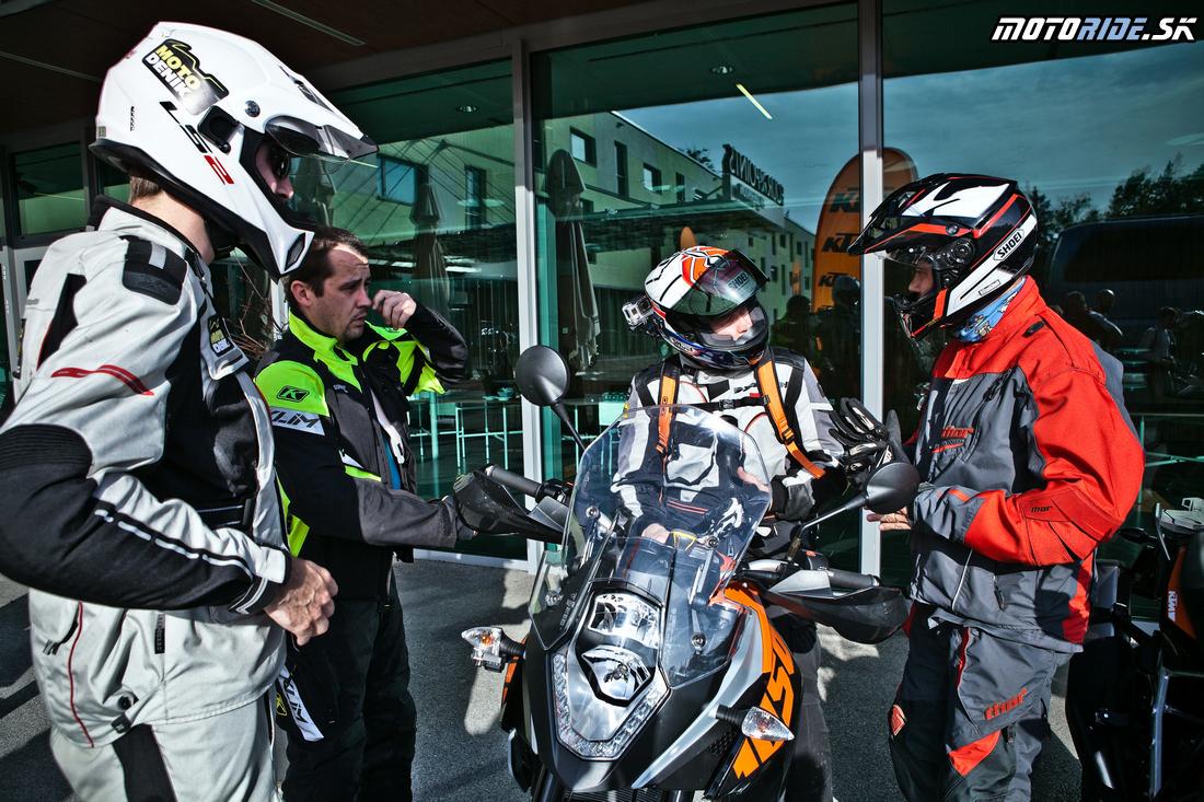 KTM Adventure 2015 - štartujeme